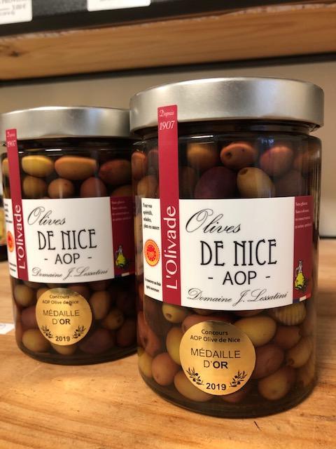 Olives de Nice AOP 380g