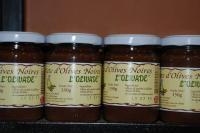 La pâte d'olives noires - variété cailletier - 130g