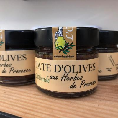 OLIVE SPREAD WITH PROVENCE HERBS 90g