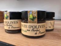 Pâte d'olives aux herbes de provence
