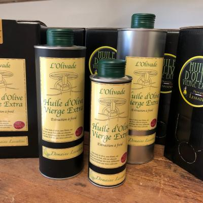 Huiles d'olive vierge extra
