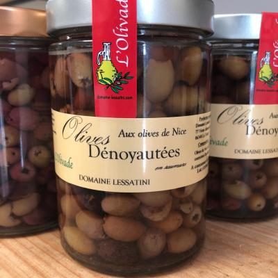 PITTED OLIVES 280g