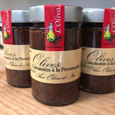 Olives concassées à la provençale 190g
