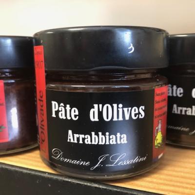 Pâte d'olives à l'arrabbiata 90g