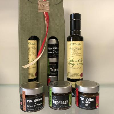 Gift coffret - Oil & Spread Olives