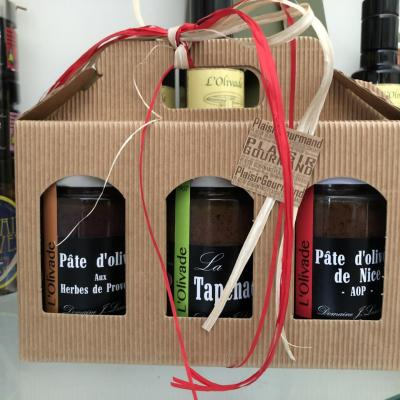 Gift coffret - Spread Olives 180g