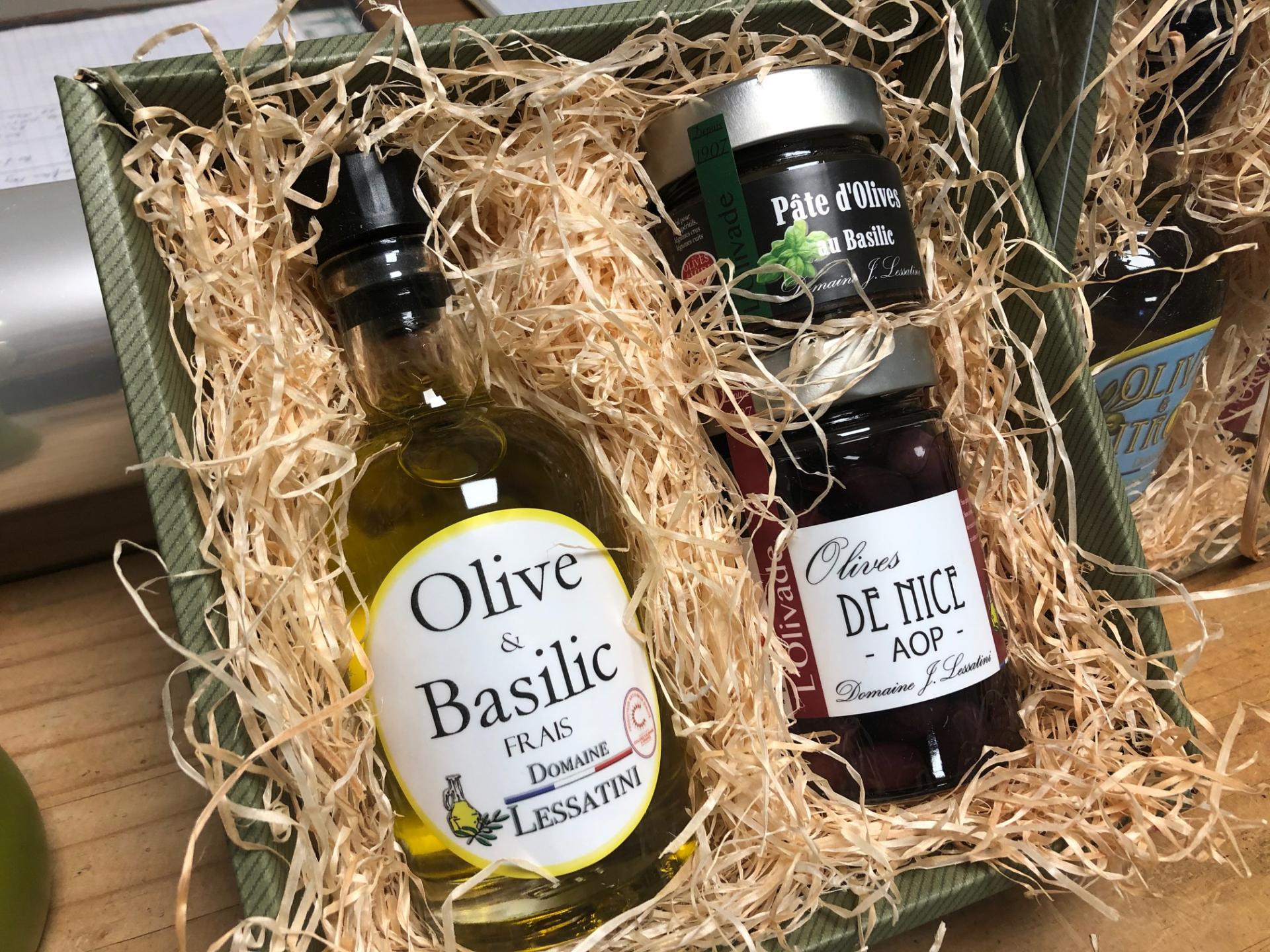 Coffret huile basilic